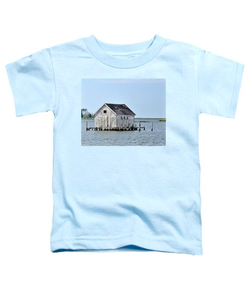 Oyster Shucking Shed Toddler T-Shirt