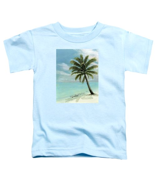 Palm Tree Study Toddler T-Shirt