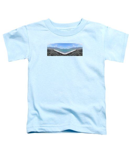 Panorama Lake Toddler T-Shirt