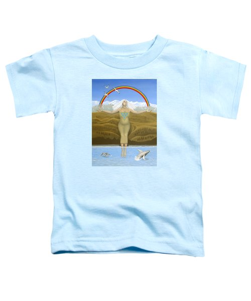 Papatuanuku / Capricorn Toddler T-Shirt by Karen MacKenzie