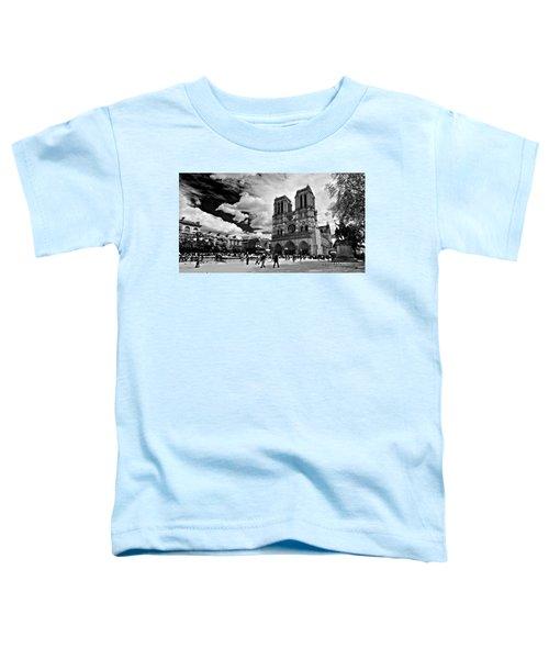 Parvis Notre Dame / Paris Toddler T-Shirt