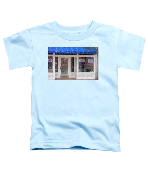 Pepsi Cola Birthplace Watercolor Toddler T-Shirt