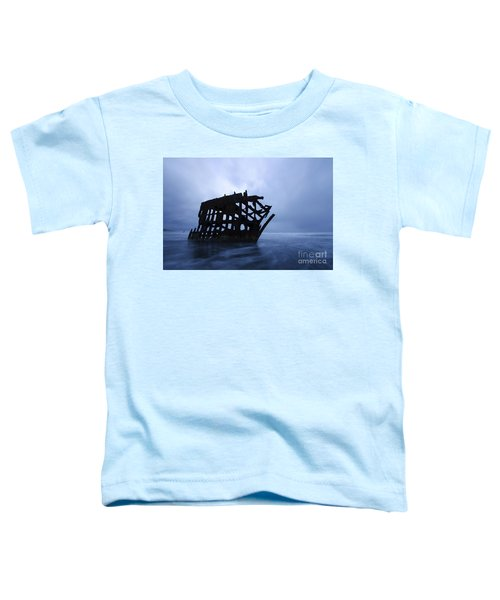 Peter Iredale Shipwreck Oregon 3 Toddler T-Shirt