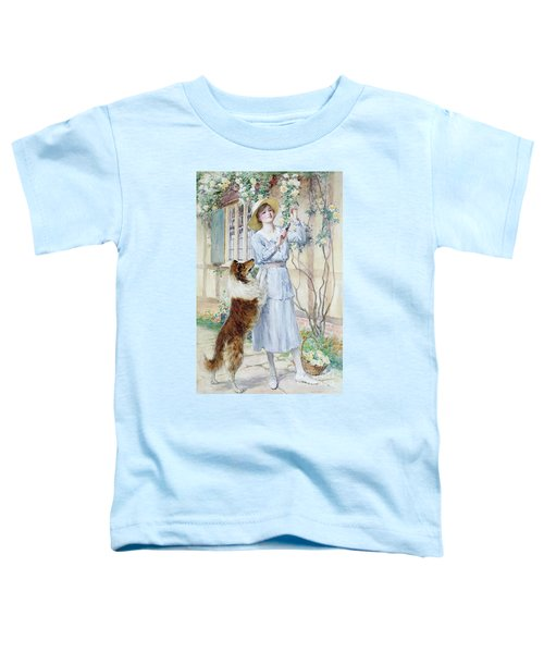 Picking Roses Toddler T-Shirt