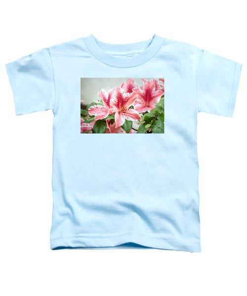 Pink Azaleas Toddler T-Shirt
