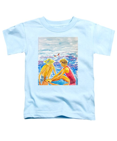 Playing On The Beach Toddler T-Shirt