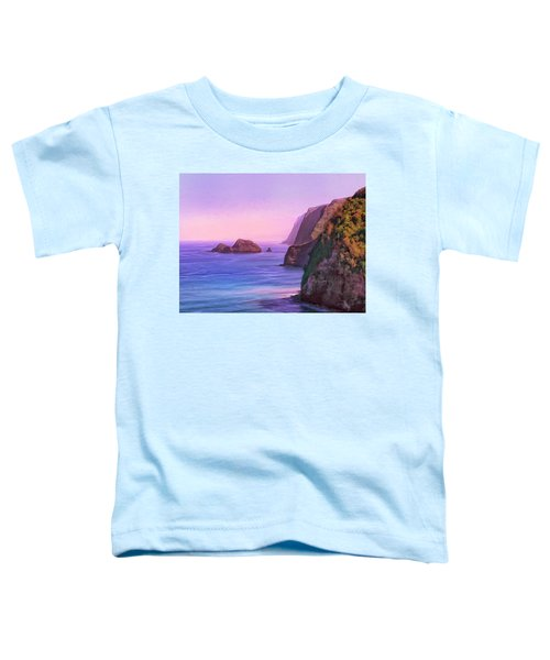 Pololu Valley Sunset Toddler T-Shirt