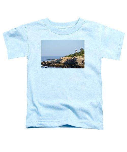 Portland Head Light In Summer Toddler T-Shirt