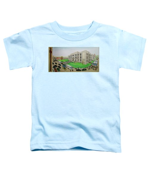 Portsmouth Trojans Travel To An Away Game Toddler T-Shirt