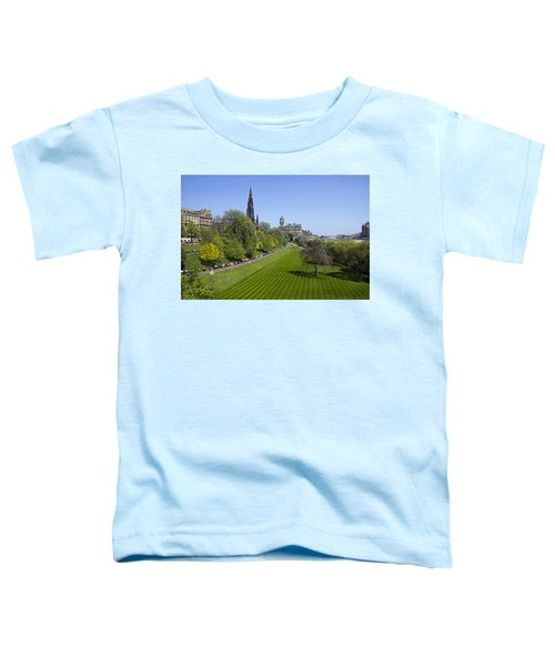 Princes Street Gardens Toddler T-Shirt