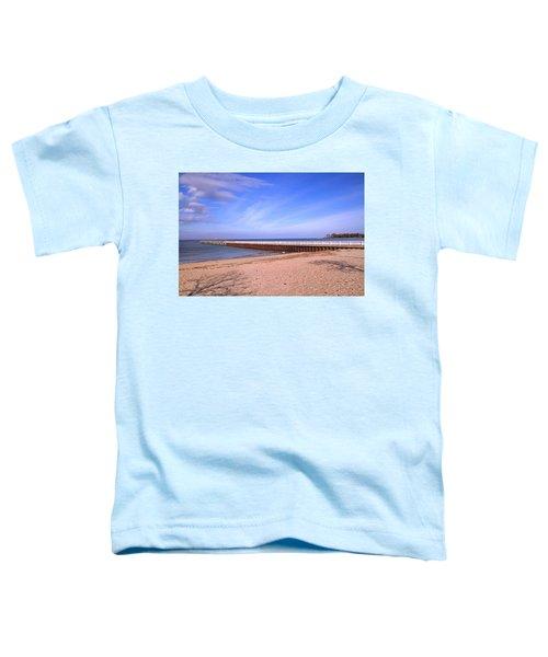 Prybil Beach Pier Toddler T-Shirt