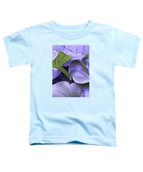 Purple Calla Lily Bush Toddler T-Shirt