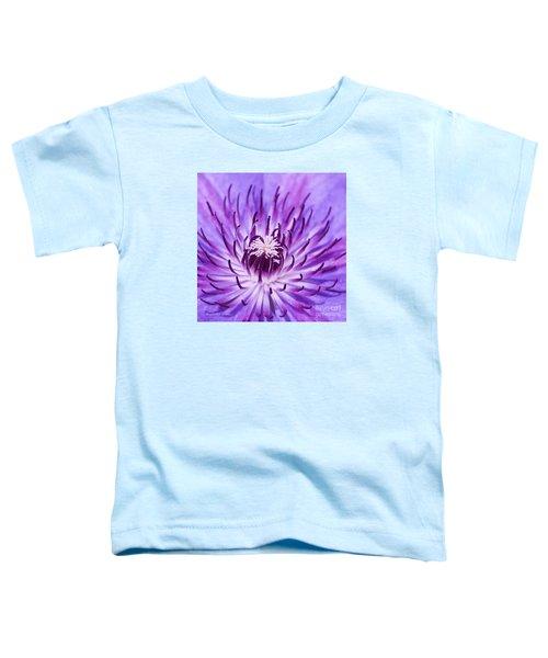 Purple Clematis Toddler T-Shirt