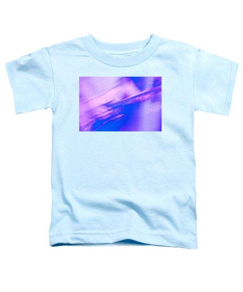 Toddler T-Shirt featuring the photograph Purple Haze by Alex Lapidus