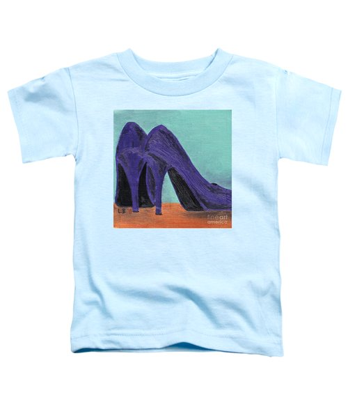 Purple Shoes Toddler T-Shirt