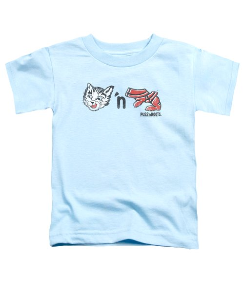 Puss N Boots - Rebus Logo Toddler T-Shirt