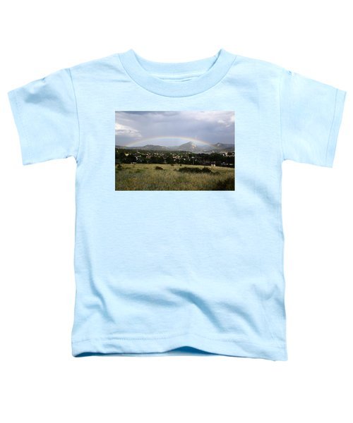Rainbow Over Lake Estes Toddler T-Shirt
