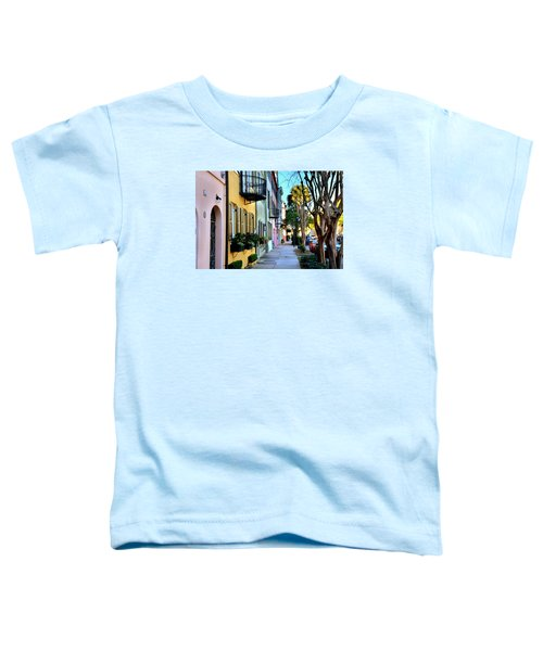 Rainbow Row Hdr Toddler T-Shirt