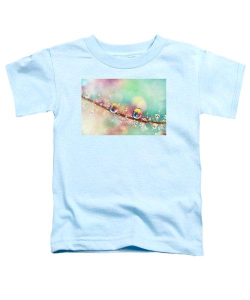 Rainbow Smoke Drops Toddler T-Shirt