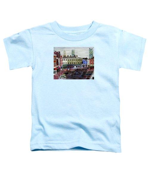 Rainy Day On Market Square Toddler T-Shirt