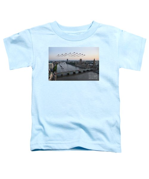 Red Arrows At Westminster  Toddler T-Shirt