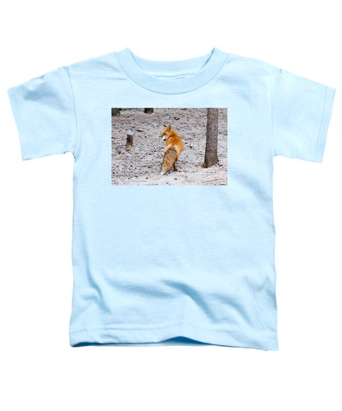 Red Fox Egg Thief Toddler T-Shirt