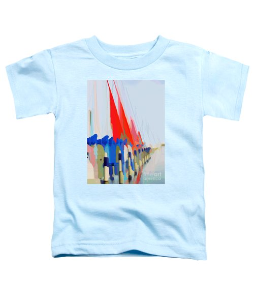 Red Sails In The Sunset Toddler T-Shirt