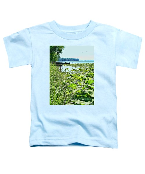 Reelfoot Lake Lilly Pads Toddler T-Shirt