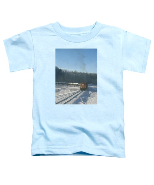 Ride The Rails Toddler T-Shirt