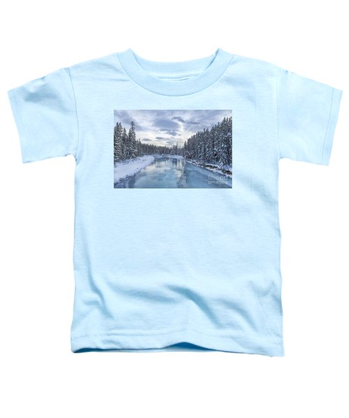 River Of Ice Toddler T-Shirt