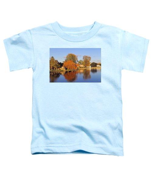 River Thames At Marlow Toddler T-Shirt