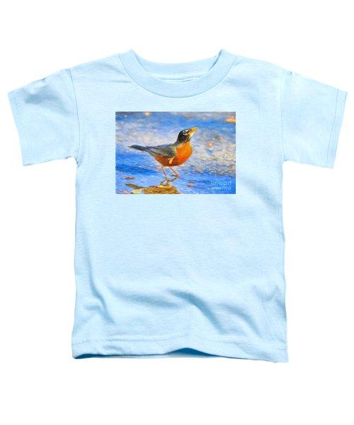 Robin In Florida Toddler T-Shirt