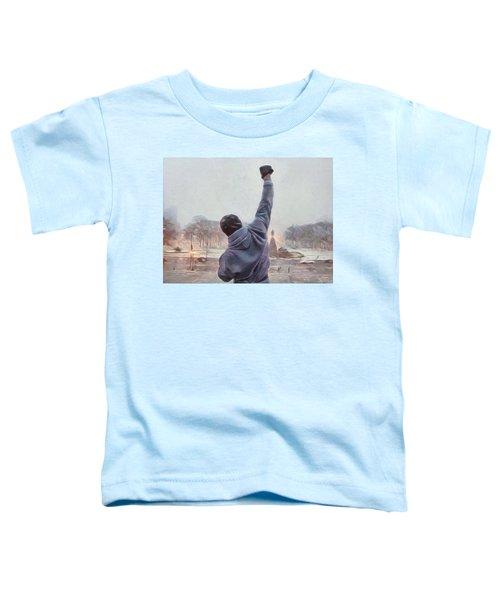 Rocky Balboa Toddler T-Shirt
