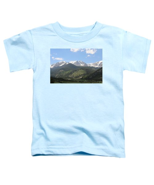 Rocky Mountain National Park - 3  Toddler T-Shirt