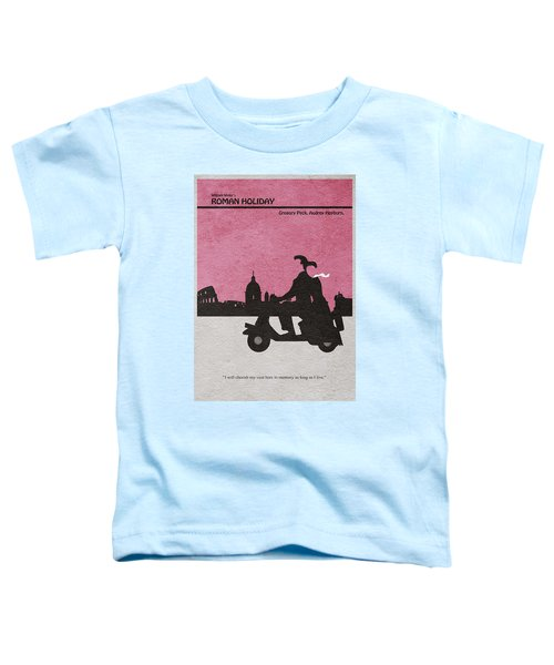 Roman Holiday Toddler T-Shirt by Ayse Deniz