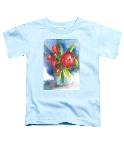 Rose Blooming Toddler T-Shirt