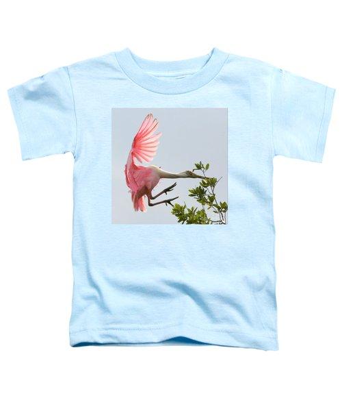 Rough Landing Toddler T-Shirt by Carol Groenen