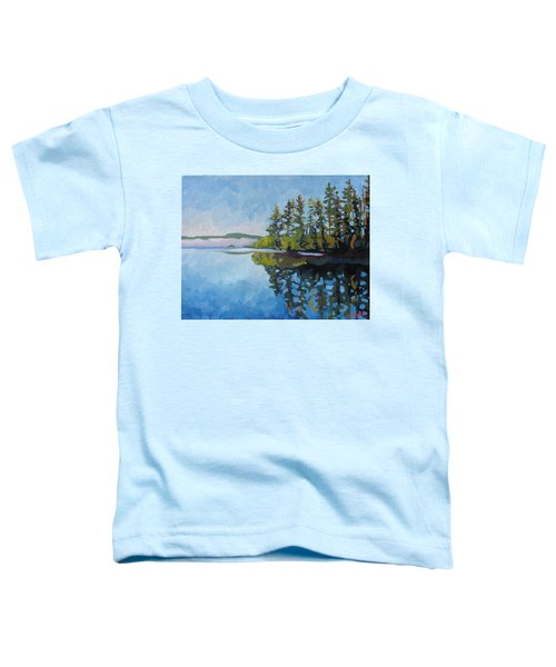 Round Lake Mirror Toddler T-Shirt