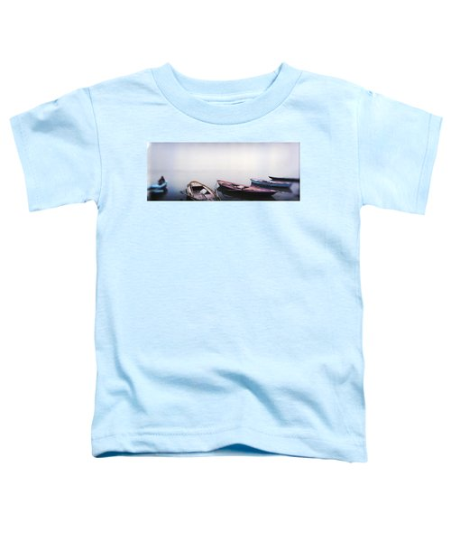 Row Boats In A River, Ganges River Toddler T-Shirt