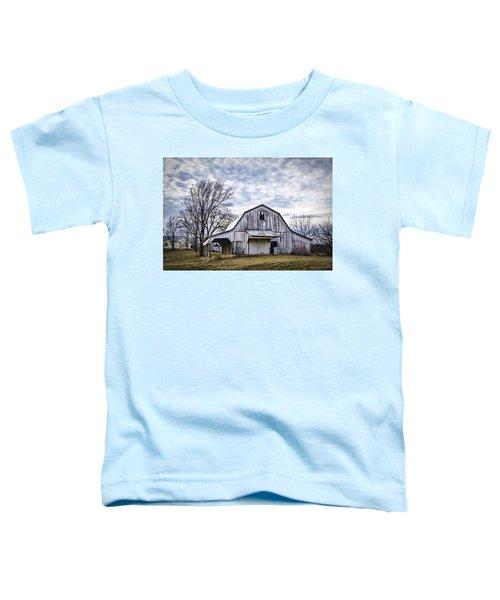 Rustic White Barn Toddler T-Shirt