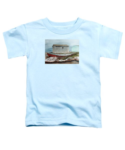 Safe From The Storm Toddler T-Shirt