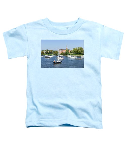 Sailboats By Charles Carroll House Toddler T-Shirt