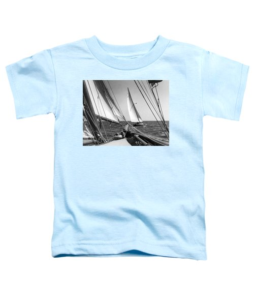 Sailing In Los Angeles Regatta Toddler T-Shirt