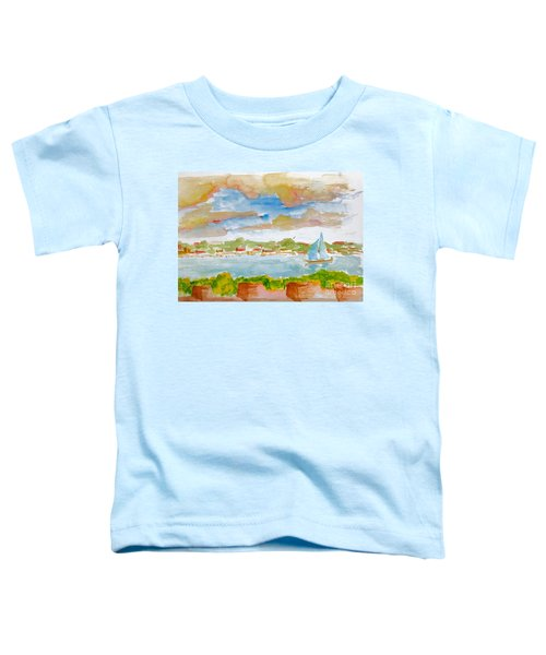 Sailing On The River Toddler T-Shirt