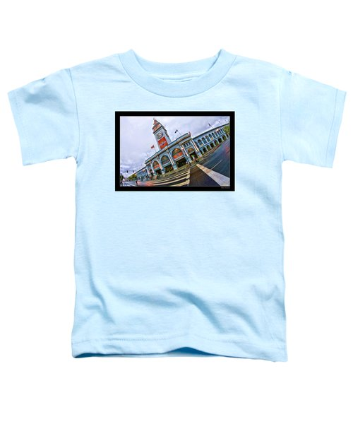 San Francisco Ferry Building Giants Decorations. Toddler T-Shirt
