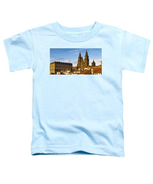 Santiago De Compostela Cathedral Galicia Spain Toddler T-Shirt