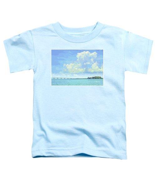 Sarasota Skyline From Sarasota Bay Toddler T-Shirt