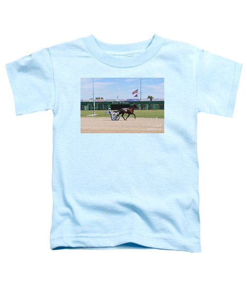 D3w-206 Scioto Downs Photo Toddler T-Shirt