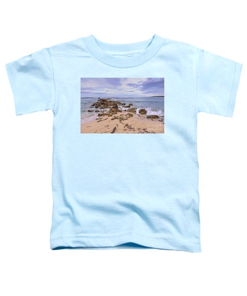 Seascape With Rocks Toddler T-Shirt