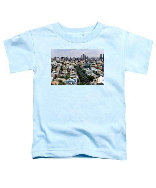 season change at Rothschild boulevard  Toddler T-Shirt